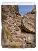 Sandstone Steps Duvet Cover