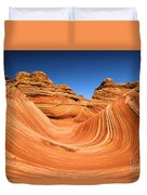 Sandstone Surf Duvet Cover by Adam Jewell