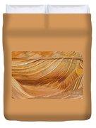 Sandstone Swirls Duvet Cover