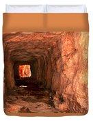 Sandstone Tunnel Duvet Cover