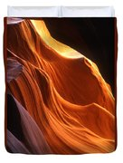 Sandstone Walls Antelope Canyon Arizona Duvet Cover