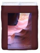 Antelope Canyon Sandstone Waves Duvet Cover