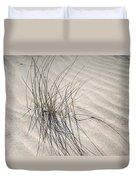 Sandy Grass. Coastal Dunes In Holland Duvet Cover