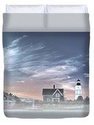 Sandy Neck Lighthouse Duvet Cover