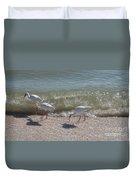 Sanibel Ibis Duvet Cover
