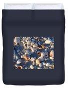 Sanibel Island Shells 1 Duvet Cover