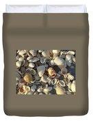 Sanibel Island Shells 3 Duvet Cover