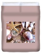 Sanibel Shells Duvet Cover