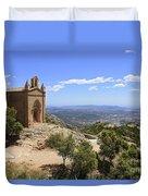Sant Joan Chapel Spain Duvet Cover