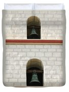 Santa Barbara Mission Bells Duvet Cover