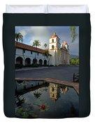 Santa Barbara Mission Reflections Duvet Cover