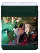 Santa Bring Tuna Duvet Cover