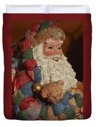 Santa Claus - Antique Ornament - 03 Duvet Cover