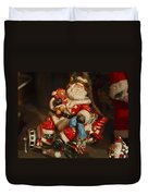 Santa Claus - Antique Ornament -05 Duvet Cover