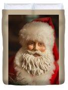 Santa Claus - Antique Ornament - 07 Duvet Cover
