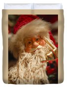 Santa Claus - Antique Ornament - 08 Duvet Cover