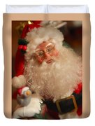 Santa Claus - Antique Ornament - 11 Duvet Cover by Jill Reger
