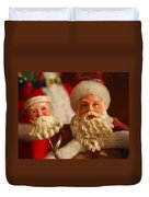 Santa Claus - Antique Ornament - 12 Duvet Cover