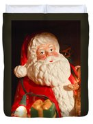 Santa Claus - Antique Ornament - 13 Duvet Cover by Jill Reger
