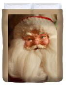 Santa Claus - Antique Ornament - 14 Duvet Cover