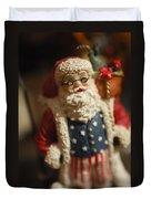 Santa Claus - Antique Ornament - 15 Duvet Cover