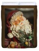 Santa Claus - Antique Ornament - 18 Duvet Cover