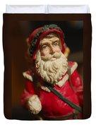 Santa Claus - Antique Ornament - 21 Duvet Cover
