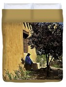 Santa Fe Afternoon - New Mexico Duvet Cover