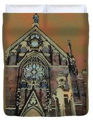 Santa Fe Cathedral Duvet Cover