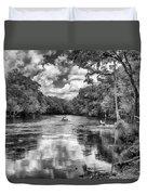 Santa Fe River Park Duvet Cover