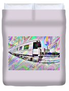 Santa Fe Train Number 37 Duvet Cover