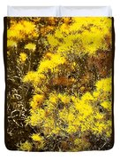 Santa Fe Yellow Duvet Cover