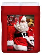 Santa Is Ready Duvet Cover