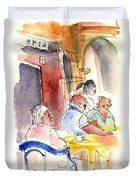Santa Margherita In Italy 09 Duvet Cover