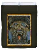 Santa Maria Church In Assisi Italy Duvet Cover