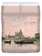 Santa Maria Della Salute And The Dogana Duvet Cover