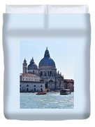 Santa Maria Della Salute Surrounded By Sparkling Waters Duvet Cover