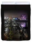Santa Monica Duvet Cover