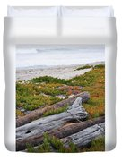 Santa Monica Mountains County Line Beach Duvet Cover