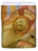Santa Trinita Altarpiece Duvet Cover