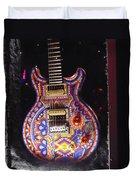 Santana Guitar Duvet Cover