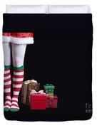Santas Little Helper Duvet Cover by Edward Fielding