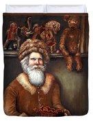 Santas Special Toys Duvet Cover