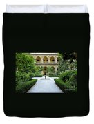 Santo Domingo Courtyard Duvet Cover