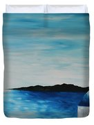 Santorini Blue Dome Duvet Cover