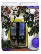 Santorini Doorway 2 Duvet Cover
