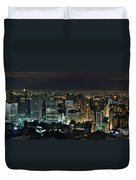 Sao Paulo Downtown From Terraco Italia Duvet Cover