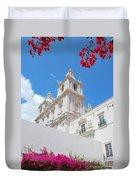 Sao Vicente De Fora Church In Lisbon Duvet Cover