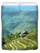 Sapa Rice Fields Duvet Cover