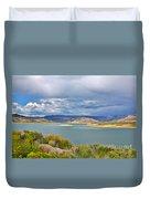 Sapinero Curecanti Recreational Area Colorado Duvet Cover